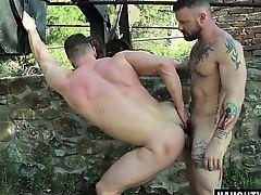 Russian gay flip flop with cumshot