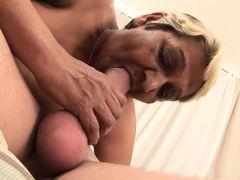 Best pornstar Andrea Blue in fabulous hd, creampie porn movie