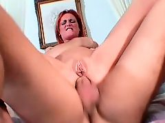 Redhead Gets Reamed By Manuel Ferrara
