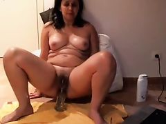 Anal Stretching Portuguese MILF