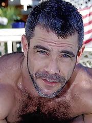 Gay Pool Side Wank