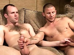 6'6'' straight hung stud fucks his bi, MMA fighter and gay4pay porn buddy.