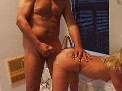 Summer Storm blond cock sucking fucker