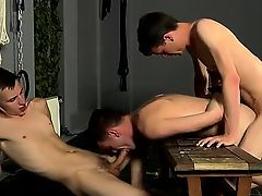 Naked guys Captive Fuck Slave Gets Used