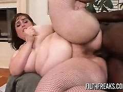 FilthFreaks - Veronica Bottoms Interracial BBW