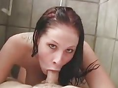 F60 Big Boobs GREAT SHOWER FUCK