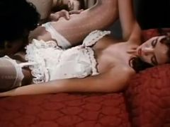 Crazy facial classic clip with Randy West and Shanna McCullough