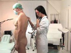 Nurse femdom fisting prostate patient