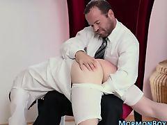 Mormon gets spanking