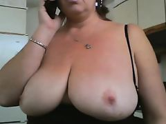 Amateur massive tits mature Kristy from 1fuckdatecom
