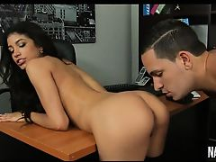 Petite Latina Fucked In Office Veronica Rodriguez