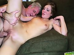 Molly Manson blowing the coach whistle cock
